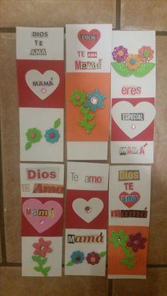 Mom's Bookmark, Handmade, Christian Message, Marcadores de libros para mamá, mensajes cristianos, hecho a mano