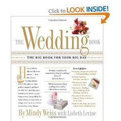 Wedding gift: The Wedding Book: The Big Book for Your Big Day [Paperback] -- by Lisbeth Levine (Author), Mindy Weiss (Author)