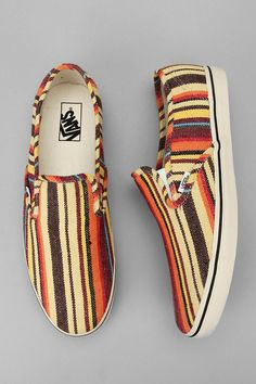 These are the shoes I would wear on a trip to the Caribbean. #Vans #shoes #UrbanOutfitters