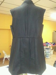 The back. of the. Frock coat