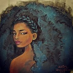 """keturahariel """"The bigger the hair, the more they stare."""""""