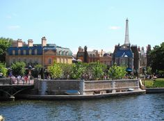 French section of Epcot, Walt Disney World