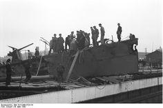 German personnel on HMS Campbeltown at Saint-Nazaire, France, 28 Mar 1942, photo 8 of 9