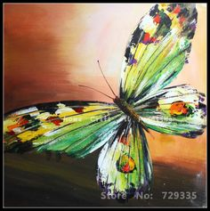 Find More Painting & Calligraphy Information about  Oil Painting on Canvas beautiful butterfly the Palette Knife Painting Modern Home decoration Abstract Art Wall Picture,High Quality modern abstract huge canvas art oil painting,China decorative painting flowers Suppliers, Cheap decor oil painting from home art of oil painting wholesale shops on Aliexpress.com