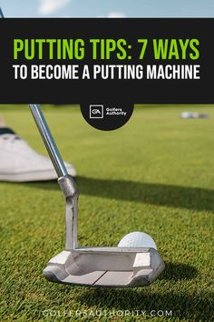 Well have gathered the best putting tips and drills that will that will help you drop more putts and get more birdies when out on the curse. Golf Chipping Tips, Golf Tips Driving, Golf Putting Tips, Club Face, Golf Instruction, Golf Tips For Beginners, Perfect Golf, Golf Training, Putt Putt