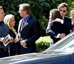 Members of the Kennedy family arrive to morn Mary Kennedy's private funeral in New York at St. Patrick's Church in Bedford, N.Y. Saturday. May 19, 2012.