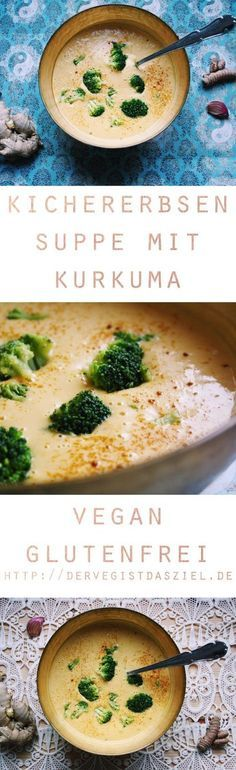 Chickpea soup with turmeric and ginger - the veg is the goal. - Chickpea soup with turmeric and ginger – the veg is the goal. – Chickpea soup with turmeric and - Easy Soup Recipes, Veggie Recipes, Vegetarian Recipes, Healthy Recipes, Cheap Recipes, Shrimp Recipes, Recipes Dinner, Brunch Recipes, Asian Recipes