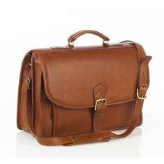Leather Briefcase Color: Tan  http://www.alltravelbag.com/leather-briefcase-color-tan-4/