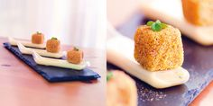 """Vicenza: polenta, Asiago e porcini"" dello chef Lorenzo Cogo  #lamadia #lamadiatravelfood #food"
