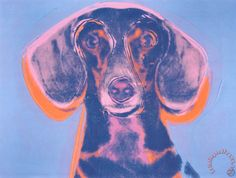 Andy Warhol Portrait of Maurice painting - Portrait of Maurice print for sale