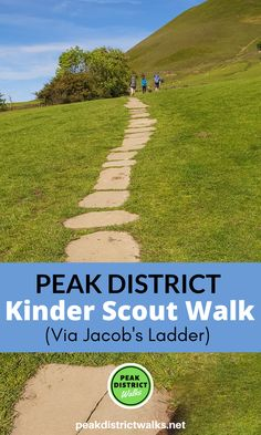 Kinder Scout via Jacob's Ladder | Peak District | Walking up Kinder Scout via Jacob's Ladder is a joy! Which way will you return to Edale? Here are 5 different options. Click the pin for maps, GPX files and full walk directions. Happy hiking! #PeakDistrict #Hiking | Peak District Walks | Peak District | Countryside | England