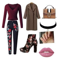 """""""Untitled #123"""" by isaisabel on Polyvore featuring beauty, LE3NO and Charlotte Russe"""