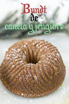 Ginger and Cinnamon bundt cake :-D Diabetic Recipes, My Recipes, Cake By The Pound, Ginger And Cinnamon, Bunt Cakes, Plum Cake, Cakes And More, No Bake Cake, Food And Drink