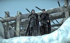 Things are about to get much colder in Telltale Games' Game of Thronesvideo game, as the series' second episode brings players all the way north in Westeros to The Wall.