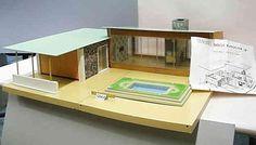 1964 Tri-Ang Bungalow B mit Pool