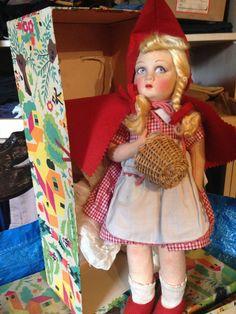 Bambola Lenci Cappuccetto rosso