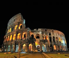 most-visited ancient ruins: Rome colosseum