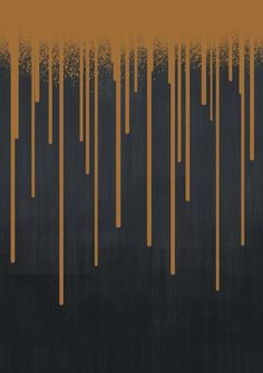 ◇ DROPS / copper  Spray paint dripping on textured background.  paint, color, spray, graffiti, pattern, abstract, drops, dripping, wet, texture, stripes, brush, simple, minimal, decorative, black, copper