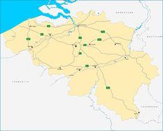 Oefening over de algemene referentiekaart van België. Klik op de kaart om naar de oefening te gaan. Klik daarna onder 'Kaart informatie' op de kleine kaart om de oefening te starten.