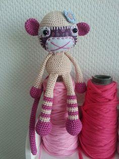 Socks Monkey Anleitung von lilleliis http://de.dawanda.com/shop/RorysHandmadeStuff