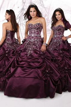 Pretty Floor length Beading Sequince Ruffles Sweetheart Ball Gown Taffeta Lace Up Chic Modern Quinceanera Dress Prom Dress affordable on sale delicate made