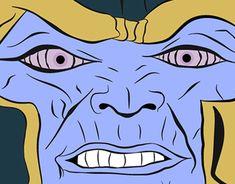 ilustración FanArt Thanos Rinnegan Freelance Photoshop, Fanart, Digital, Illustration, Fictional Characters, Dibujo, Illustrations, Fan Art, Fantasy Characters