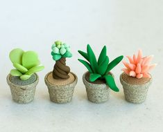 120 easy to try diy polymer clay fairy garden ideas (17)