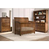 Simmons Kids Kingsley 4-in-1 Convertible Crib - Chestnut