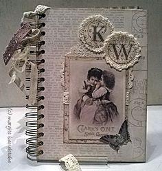 Buchkalender / Timeplaner Shabby, Guest Books, Vintage, Frame, Home Decor, Cards, Picture Frame, Decoration Home, Room Decor