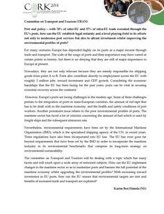 #ClippedOnIssuu from Committee Topics | Cork2014