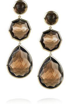 Shades Of Beige, Makes You Beautiful, Smokey Quartz, Smoky Topaz, Black And Brown, Jewelery, Fashion Jewelry, Jewelry Design, Gold Necklace