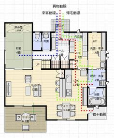 Sims House Plans, Villa Plan, American Houses, Paint Colors For Living Room, Japanese Architecture, Japanese House, House Layouts, Home Hacks, Sustainable Design