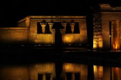 Templo de Debod ( Madrid)