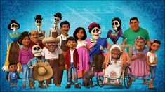 The Riveras are a family of shoemakers from the town of Santa Cecilia. They are major characters in the Pixar film Coco. A tightly-knit group, the Riveras are humble people who collectively run the Rivera Family Shoemakers line. Unfortunately, they are known in their home as being the only family who despise music in an otherwise musical town, due to a family tiff that happened between the family's former matriarch Imelda and her husband Héctor. Since then, the family has only grown and.....