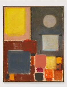 Grey and Yellow (With Circle) by Patrick Heron will lead Sotheby's Abstraction sale in London on December The work, painted between October 1958 Abstract Painters, Abstract Art, Peter Wood, Patrick Heron, Value In Art, Yellow Painting, Art Uk, Art Portfolio, Painting Inspiration