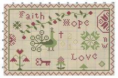 A blog about cross stitching