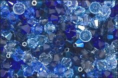 Swarovski Crystal Jams™ Assortment Faceted Bicone 4mm - Color Mix