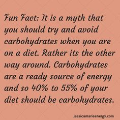http://jessicamarieenergy.com  Every weight loss diet needs to contain carbohydrates of some sort.  They give you your needed energy to get through your day and complete your workouts.  Add more starchy vegetables or whole greats to get great healthy and natural sources of carbohydrates.  Avoid the white breads and processed foods such as cakes and cookies in abundance.