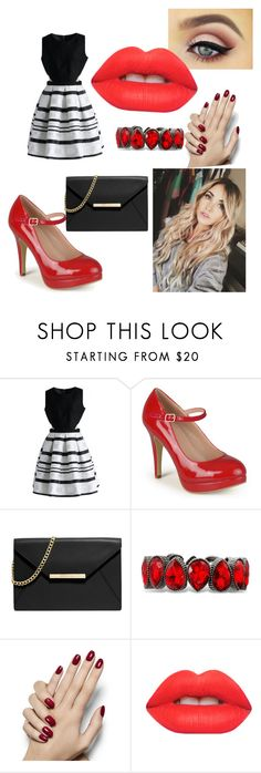 """""""Night Out 1"""" by taylor-ross115 on Polyvore featuring Chicwish, Journee Collection, MICHAEL Michael Kors, Free People and Lime Crime"""