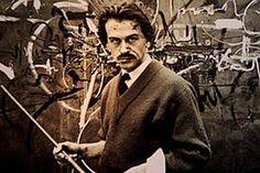 Mit Sinn für Spektakel und große Formate: Georges Mathieu. Der französische Maler, Hauptvertreter des Tachismus, galt als einer der Vorläufer der Happening-Bewegung