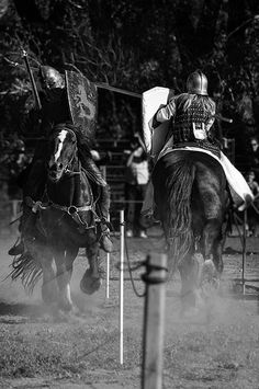 Jousting Knights