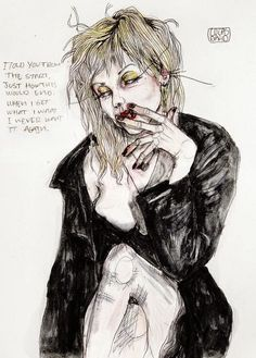 Seriously Ruined: ART | Lucas David #courtneylove