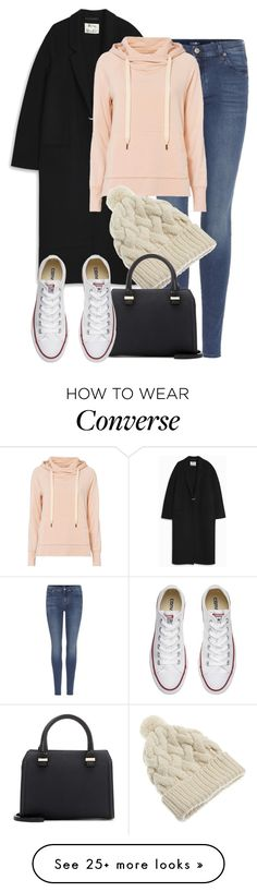 """VB x Acne"" by muddychip-797 on Polyvore featuring 7 For All Mankind, Acne Studios, NSF, Victoria Beckham, Converse, victoriabeckham, acnestudios and fashionset"