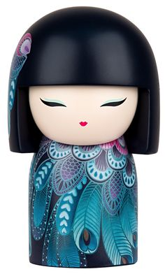 """Kimmidoll™ Fumi - 'Grace' - """"My spirit is sincere and dignified. In every circumstance, the nobility of my spirit shines through your diligent courtesy and modest dignity. May your sincerity and quiet humility be an inspiration for all to see what it means to live graciously."""""""