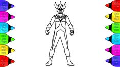 Ultraman Taro Coloring Pages How To Coloring Ultraman Fun For Kids Ultraman Taro