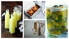 Vlastnoručně vyrobené dárky dělané z láskou a navíc chutné potěší třikrát. Limoncello, Cucumber, Zucchini, Food And Drink, Vegetables, Drinks, Recipes, Face, Syrup