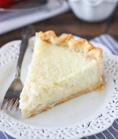 Old Fashioned Coconut Custard Pie Recipe