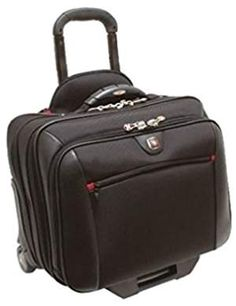 Swissgear Wheeled Computer Case, Contents: Comp-U-Roller (fits most 17 notebooks) & matching notebook case (fits most notebooks) nests inside comp-u-roller. Take a load off and carry all of your heavy belongings in ease with t. Desktop Accessories, Laptop Accessories, Travel Accessories, Laptop Carrying Case, Notebook Case, Victorinox Swiss Army, Hard Disk Drive, Computer Case, Shopping
