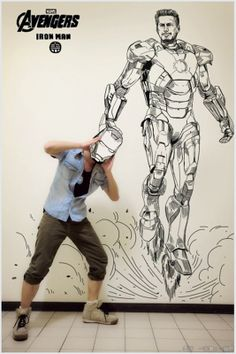 Cool Photos of Artist Gaikuo-Captain Trapped in His Own Manga Art Series - News - GeekTyrant One Piece Manga, Self Portrait Drawing, Creative Self Portraits, Comic Art, Comic Books, Perspective Art, Art Series, Comic Character, Artist Art