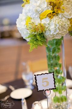 Like the table numbers